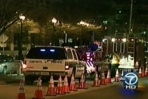 Arlington DUI checkpoint on St. Patrick's Day 2010 (via ABC7)