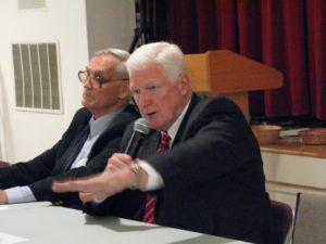 Rep. Jim Moran and Ron Fisher debate in Highland Park