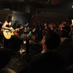 Sean Lennon and Charlotte Kemp Muhl perform as The Ghost of a Saber Tooth Tiger