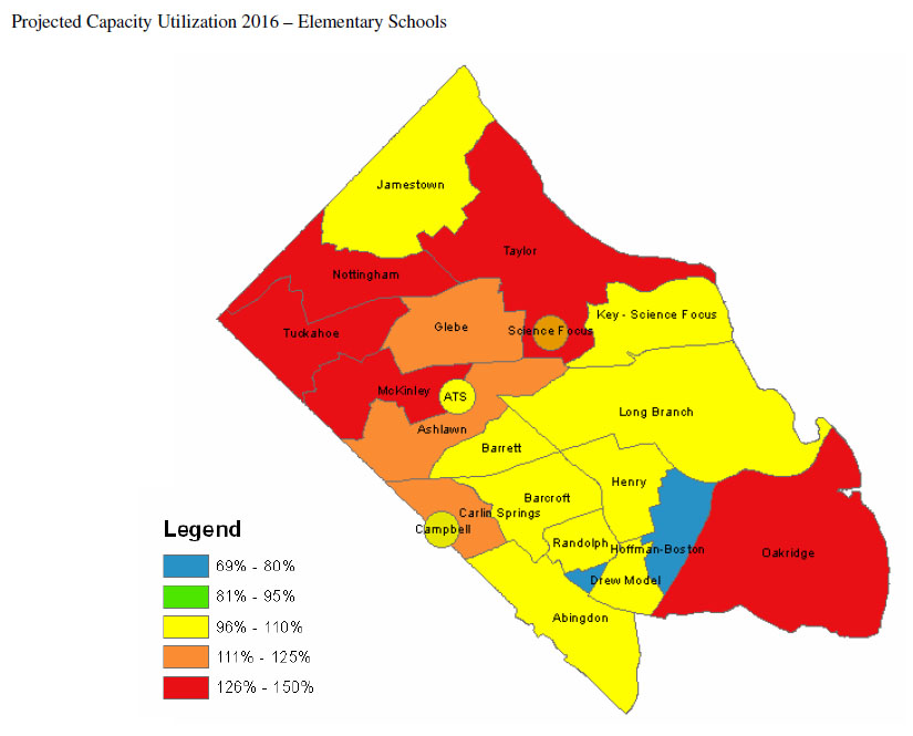 Capacity Crisis Looming for Arlington Public s ... on map of leesburg va, map of city of charlottesville va, map of annandale va, map of galax city va, map of springfield va, map of waynesboro city va, map of virginia beach va, map of virginia counties va, map of fairfax va, map of city of suffolk va, map arlington va 22203, map of centreville va, map of richmond va, map of alexandria va, map of town of blacksburg va, map of norfolk va, map of hampton va, map of chesapeake va, map of anne arundel county md, map of city of lynchburg va,