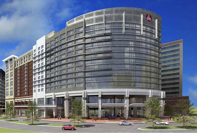 The Opening Of Two Large Hotels In Crystal City Is Drawing
