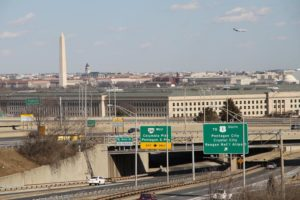 View of the Pentagon from Prospect Hill
