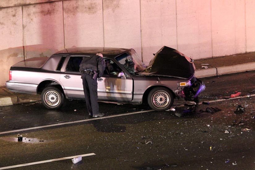 Updated Police Search For Wrong Way Driver After I 395 Crash