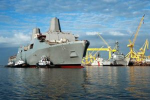 USS Arlington (photo courtesy Northrop Grumman)