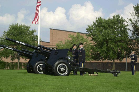 Did You Hear The Cannon Fire This Morning? | ARLnow com