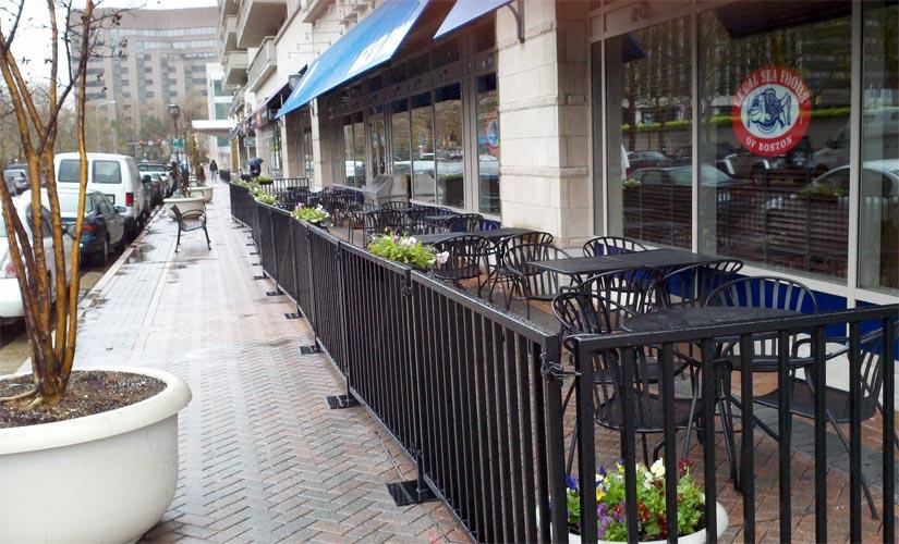 Is Legal Sea Foods Sidewalk Seating Legal Arlnow Com