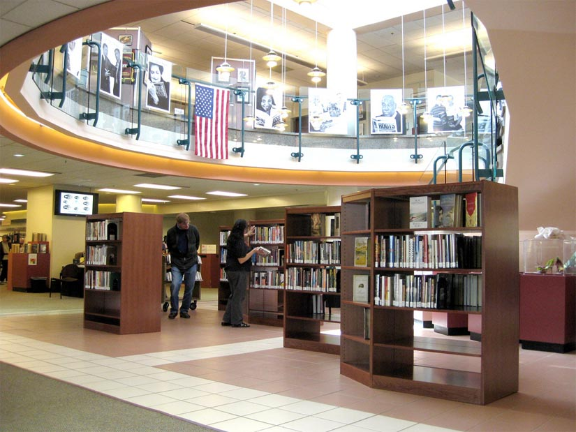 Shirlington library book dating rules