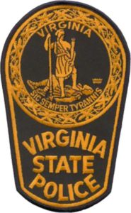 Virginia State Police badge