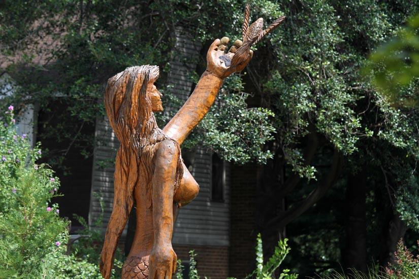 Busty Mermaid Carving Cut Down Arlnowcom