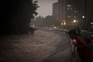 Flooding in Arlington on 9/8/11 (courtesy Brendan L.)