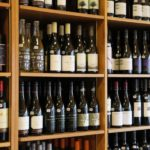 Wines on the shelf at Arrowine