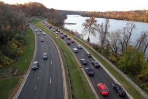 Traffic on the GW Parkway (file photo)