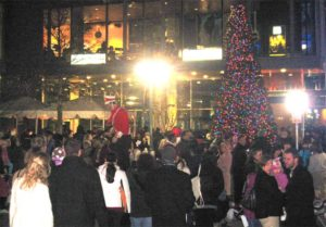 Shirlington tree lighting event in 2010
