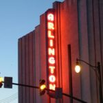 Sign on Arlington Cinema and Drafthouse building (photo by wfyurasko)