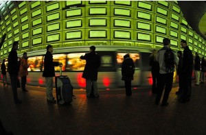 Rosslyn Metro station (by Chris Rief)