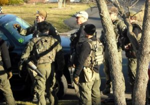 FBI training exercise (file photo courtesy of Lucy Brookover)