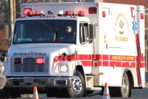 Arlington County ambulance (file photo)