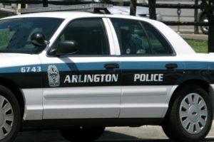 Arlington County police car