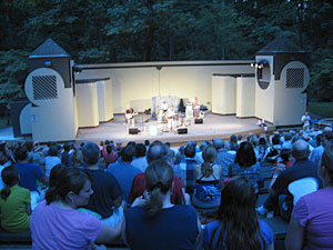 Performance at Lubber Run Amphitheater (photo courtesy Arlington County)