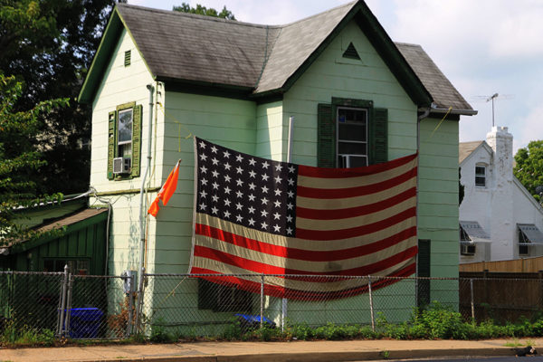 """Flag house"" in 2012"