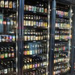Bottle selection at World of Beer in Ballston