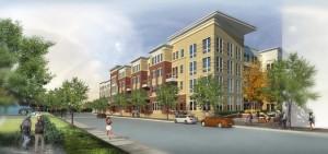 Rendering of the Arlington Mill Residences