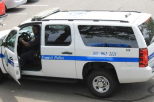Metro transit police vehicle (file photo)