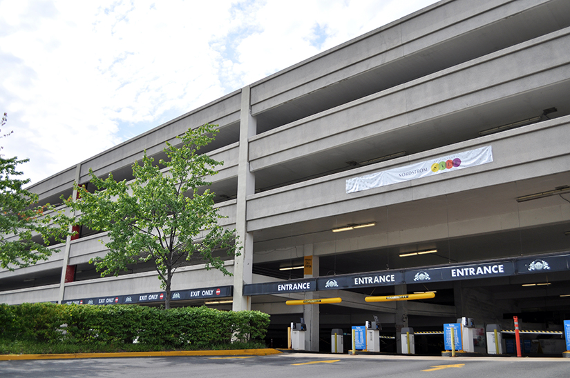 Pentagon City Mall Parking Office