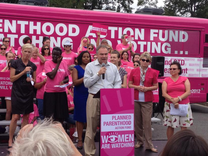 Kaine Planned Parenthood Hold Rally in Arlington – Planned Parenthood Park City