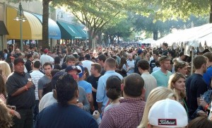 Crowd at 2012 Shirlington Oktoberfest