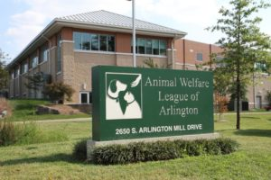 Animal Welfare League of Arlington building near Shirlington