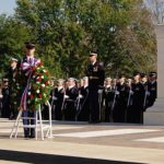 Veterans Day ceremony at Arlington National Cemetery by Philliefan99