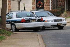 Arlington County police cars (file photo)