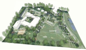 Ashlawn Elementary School addition site plan