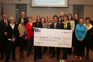 United Way presents grant money to Arlington County