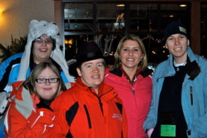 Andrea Molfetto and Special Olympics athletes