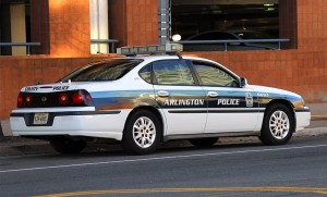 Arlington County police car (file photo)