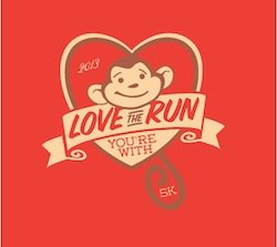 Love the Run You're With logo