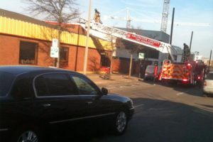 Fire at Courthouse Wendy's restaurant