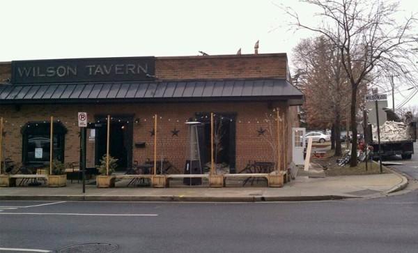 Wilson Tavern expansion (photo courtesy @dylanbarlett)