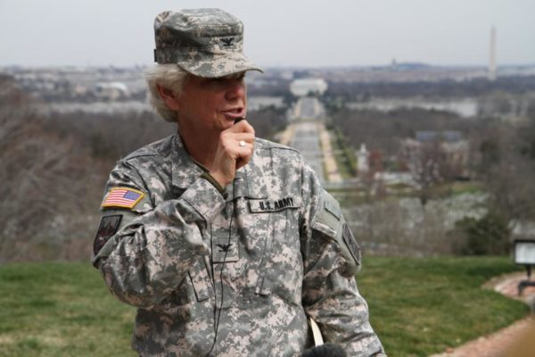 Col. Victoria Bruzese, Arlington National Cemetery's chief engineer