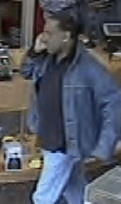 Liquor store theft suspect (photo courtesy ACPD)