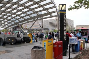 Pentagon City Metro station
