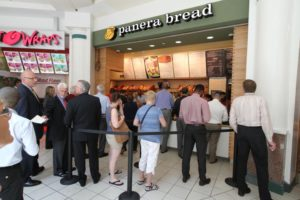 New Panera Bread restaurant in the Pentagon City mall food court