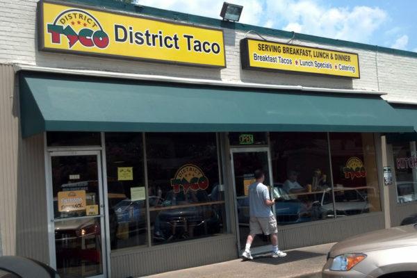 District Taco's Lee Highway location