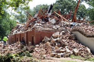 Restoration Anglican Church in Cherrydale begins demolition