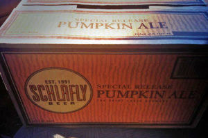 Schlafly Pumpkin Ale (photo via Twitter)