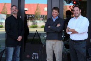 Giftrocker's Michael Scruggs, left, Alex Robertson, center and Michael Rosen
