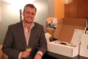 Homemade Gin Kit co-founder Joe Maiellano
