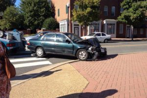 Car crashes into personal training studio
